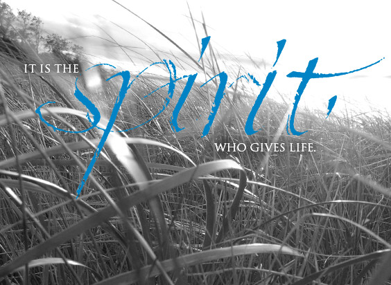 Spirit-gives-life