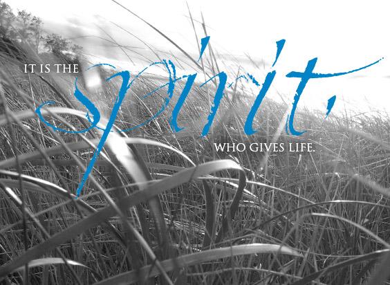 Spirit-gives-life
